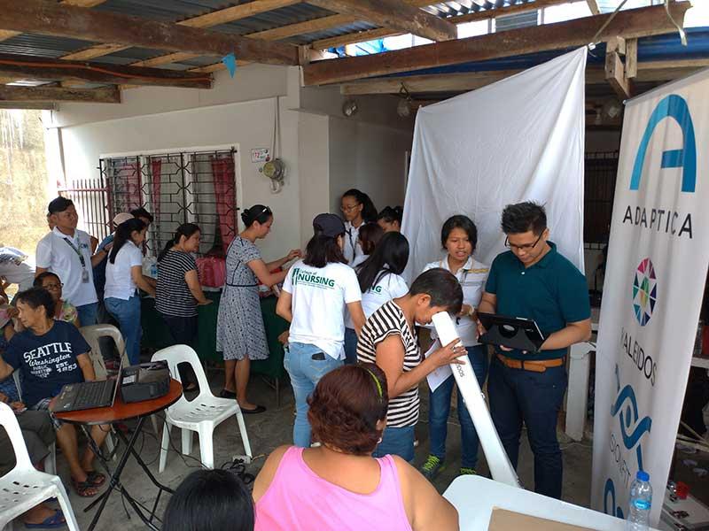 Mass screening organized by Cavite State University – Philippines