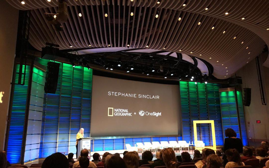 OneSight & National Geographic event