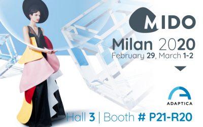 See you at MIDO 2020 – 50th edition
