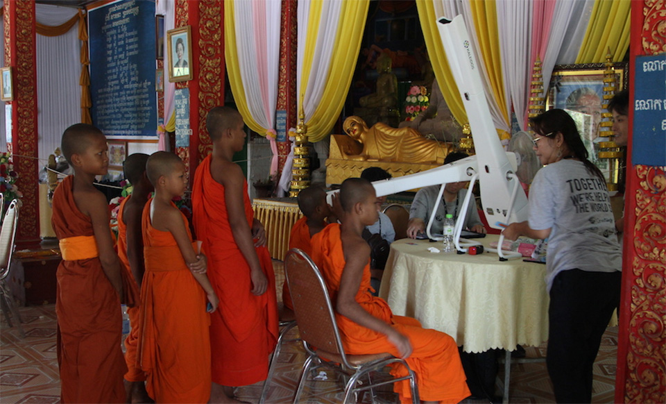 Onesight screening campaign in Cambodia